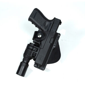 Fobus Tactical Roto-Paddle/Belt Holster For GLOCK 19/23/32 With Laser Polymer Black GLT19RP