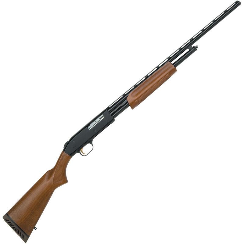 "Mossberg 500 All Purpose Field Pump Action Shotgun .410 Bore 24"" Barrel 6 Rounds 3"" Chamber Full Choke Wood Stock Blued 50104"