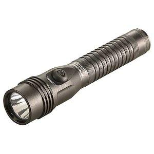 Streamlight Strion DS HL Flashlight White HL LED 700 Lumens AC/DC PiggyBack Charger Aluminum Black