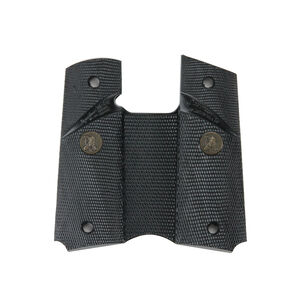 Pachmayr Signature Grips 1911 Full Size No Backstrap Rubber Black 02921