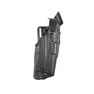 Safariland 6360 ALS SLS Retention Duty Holster with Mid Ride UBL GLOCK 17 and 22 Right Hand SafariLaminate STX TAC Black 6360-83-131-NH