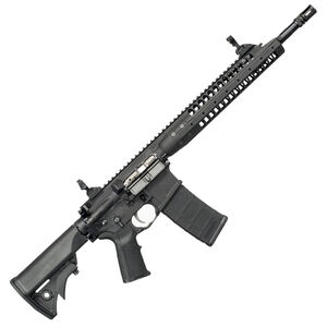 "LWRC IC-A5 AR-15 5.56 NATO Semi Auto Rifle, 14.7"" Barrel 30 Rounds, Gas Piston"