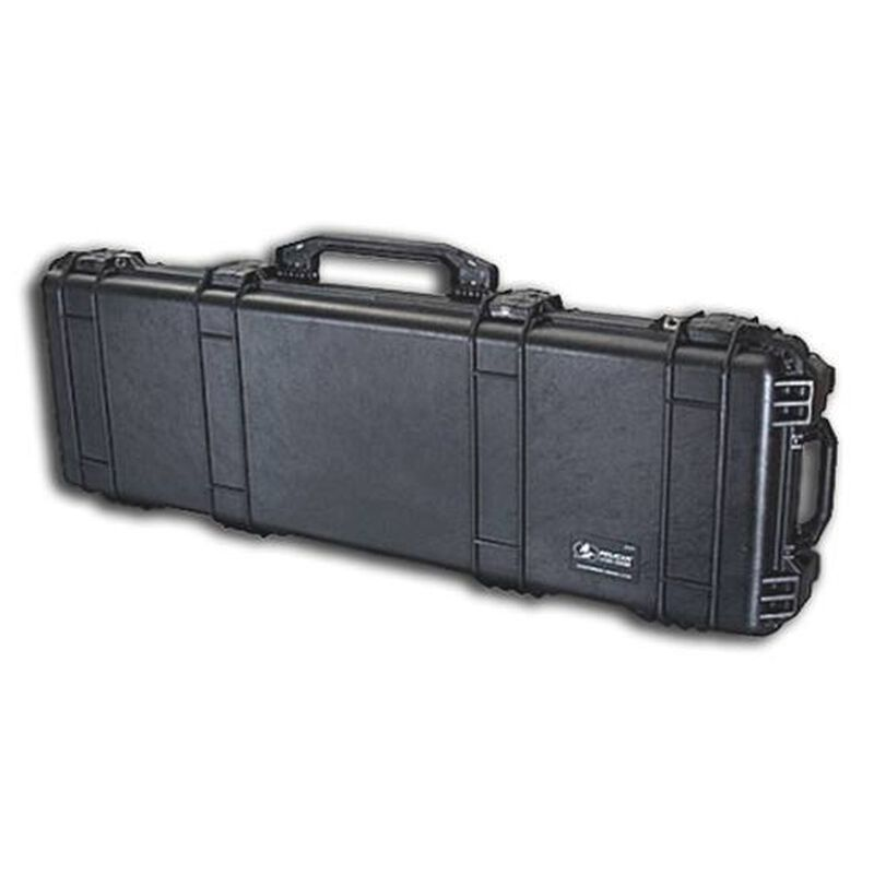 "Pelican 1720 Protector Wheeled Rifle Case 42"" Foam Interior Polymer Black 1720-000-110"