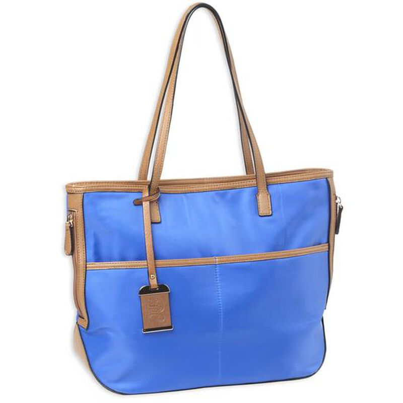 Bulldog Cases Electric Blue Travelers Tote with Concealed Carry Pocket and Holster
