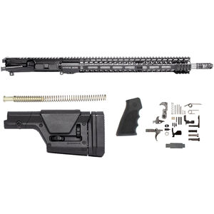 "Stag Arms Stag-15 Valkyrie Rifle Kit AR-15 Upper Receiver Assembly .224 Valkyrie 18"" Fluted Stainless Steel Barrel 16.5"" M-LOK SL Free Float Handguard Lower Parts Kit Magpul PRS Stock Black"