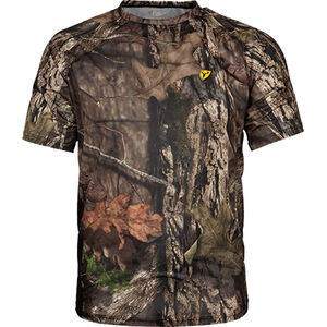 Scent Blocker Men's Fused Cotton S/S Top Short Sleeve T-Shirt Large Cotton/Polyester Realtree Edge Camo