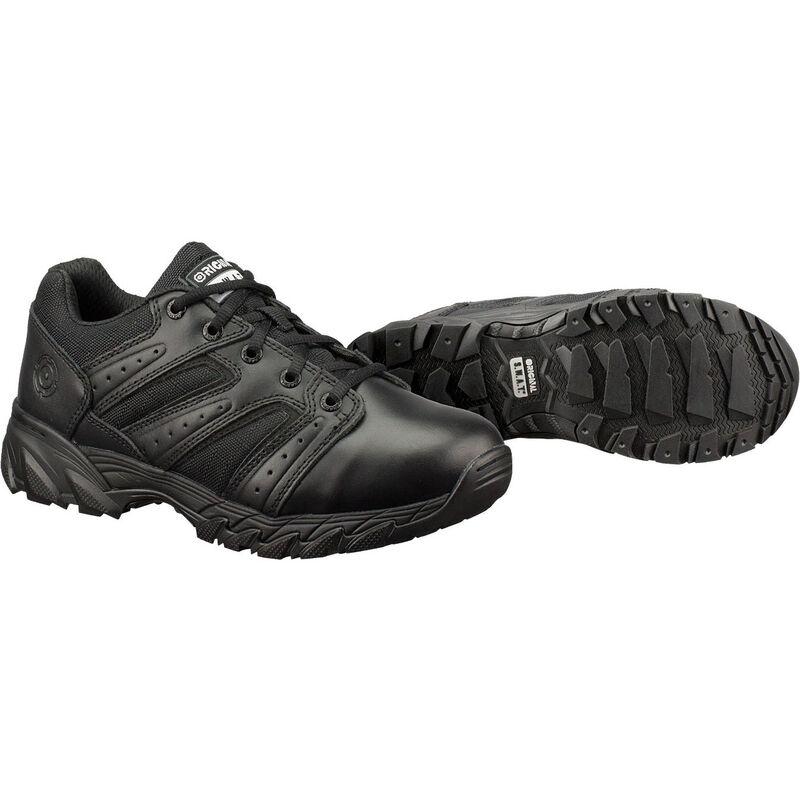 Original S.W.A.T. Chase Low Men's Shoe Size 10 Regular Non-Marking Sole Leather/Nylon Black 131001-10