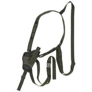 """Fox Outdoor Tactical Small Arms Shoulder Holster 5"""" Right Hand Nylon Olive Drab Green 58-050"""