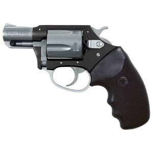 "Charter Arms Undercover Lite Revolver .38 Special +P 2"" Barrel 5 Round Black Rubber Grip Aluminum Black Stainless Finish 53870"