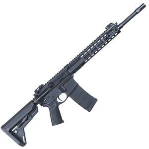 "Barrett REC7 AR-15 Semi Auto Rifle 5.56 NATO 16"" Barrel 30 Round Magazine Gas Piston System Enhanced M-LOK Hand Guard 6-Position Stock Cerakote Black Finish"