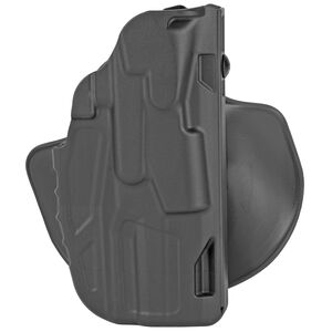 Safariland 7378 7TS ALS Concealment Paddle with Belt Loop Combo Holster fits Government Size 1911 Right Hand Synthetic Plain Black