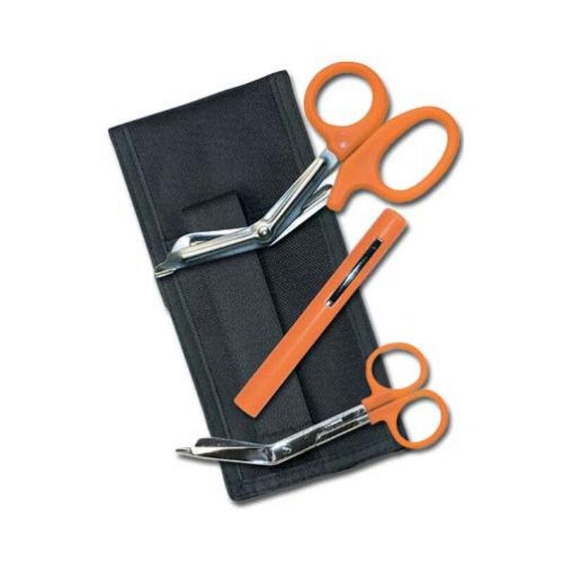 EMI Colormed Basic EMS Holster Set Black Nylon Orange 464