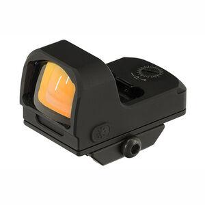 UTG OP3 Micro Red 3.5 MOA Single Dot Reflex Sight Adaptive Base OP-RDM20R