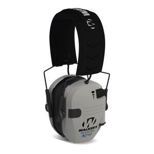Walker's Razor X-TRM Digital Muffs Electronic Ear Protection NRR 23dB Gray
