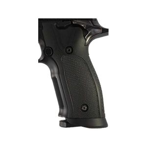 Hogue SIG P225-A1 Checkered Grip G10 Solid Black 27159