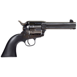 "Taylors & Company Devil Anse 45 Colt Single Action Tuned Revolver 6 Rounds 4.75"" Barrel Blued Frame with Matte Black Wood Grips"