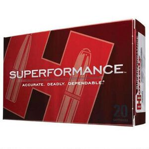 Hornady Superformance .260 Rem Ammunition 20 Rounds 129 Grain SST Polymer Tip BT 2930 fps