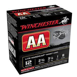 "Winchester AA Lite Handicap 12 Ga 2.75"" #8 Lead 250 rds"