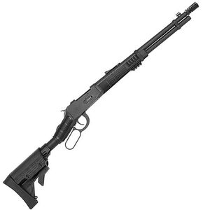 """Mossberg 464 SPX Tactical Lever Action Rifle .30-30 Winchester 16.25"""" Barrel 5 Rounds Flash Suppressor 6 Position Black Synthetic Stock Blued Finish"""