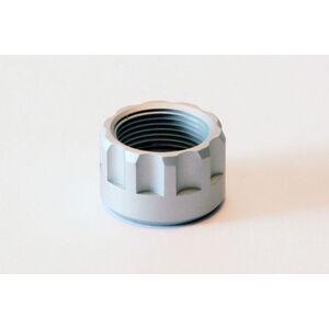 "LongShot Ribbed Thread Protector .578""-28 for Hi-Point 1095TS, 4095TS & 4595TS w/ Threaded Muzzle Brushed Aluminum"