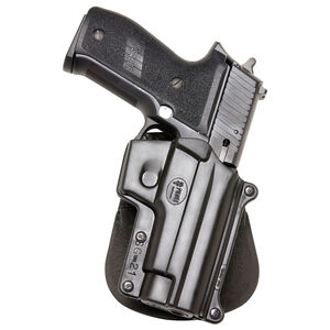 Fobus Holster SIG P220,P226/S&W 3913,4013,5906,6906 Right Hand Paddle Attachment Polymer Black