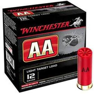 "Winchester 12 Gauge AA Xtra-Lite 2-3/4"" #7.5 Lead 25 Rounds"