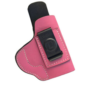 Tagua Gunleather Softy S&W M&P Shield Inside the Pants Holster Right Hand Leather Pink PIPH-1010