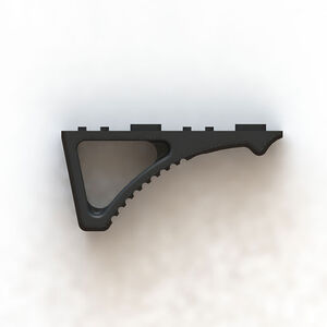 FIMS Firearms Session 1 Grip A Angled Foregrip M-LOK Carbon Fiber Polymer Black