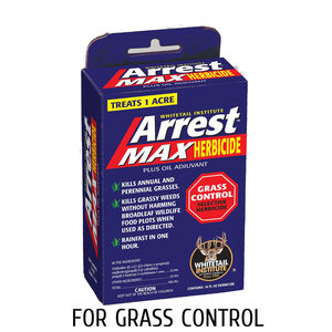 Whitetail Institute Arrest Max Herbicide for Deer Food Plots 1 Acre Treatment