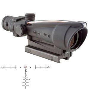 Trijicon ACOG TA11H-308 Riflescope 3.5x35 Illuminated Red Horseshoe .308 M240 BDC Reticle 1/3 MOA Aluminum Matte Black with TA51 Mount TA11H-308