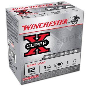 """Winchester Super-X 12 Ga 2.75"""" #6 Lead 1oz 250 Rounds"""
