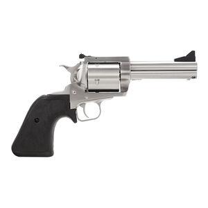 "Magnum Research BFR Single Action Revolver .44 Magnum 5"" Barrel 5 Rounds Short Cylinder Model Fixed Front/Rear Adjustable Sight Black Rubber Grip Brushed Stainless Steel Finish"