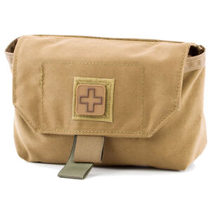 Eleven 10 CAB Med Pouch Belt/MOLLE Compatible Nylon Coyote