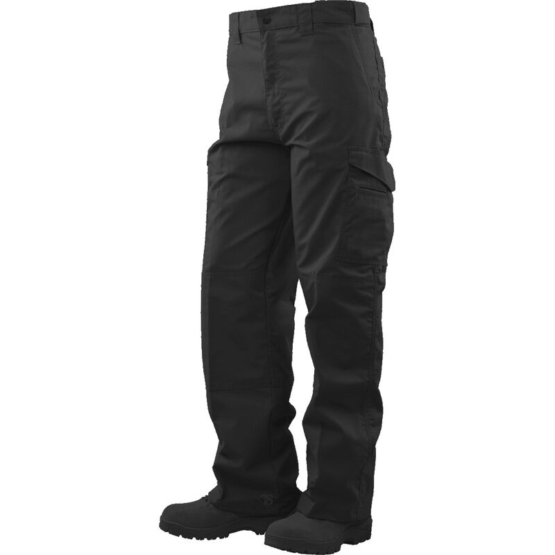 Tru-Spec Tactical Boot Cut Trousers 65/35 Polyester/Cotton Rip-Stop 30x34 Black