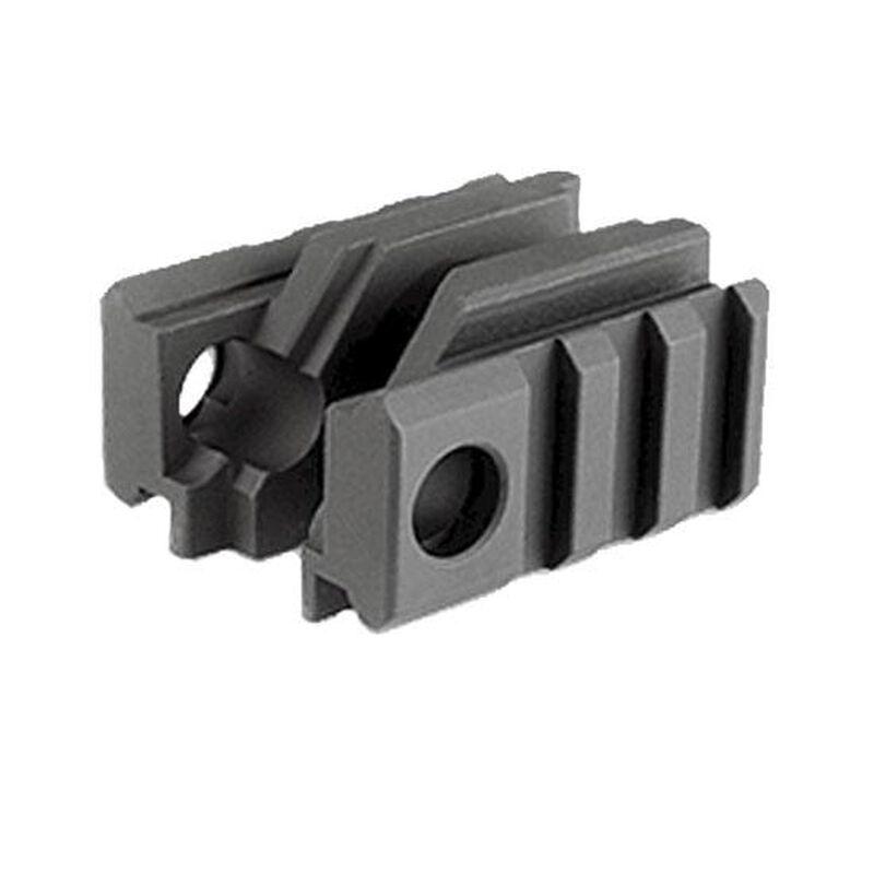 Midwest Industries AR-15 Tactical Light Mount Gen 2 w/ Standard Front Sight Aluminum Black MCTAR-01G2