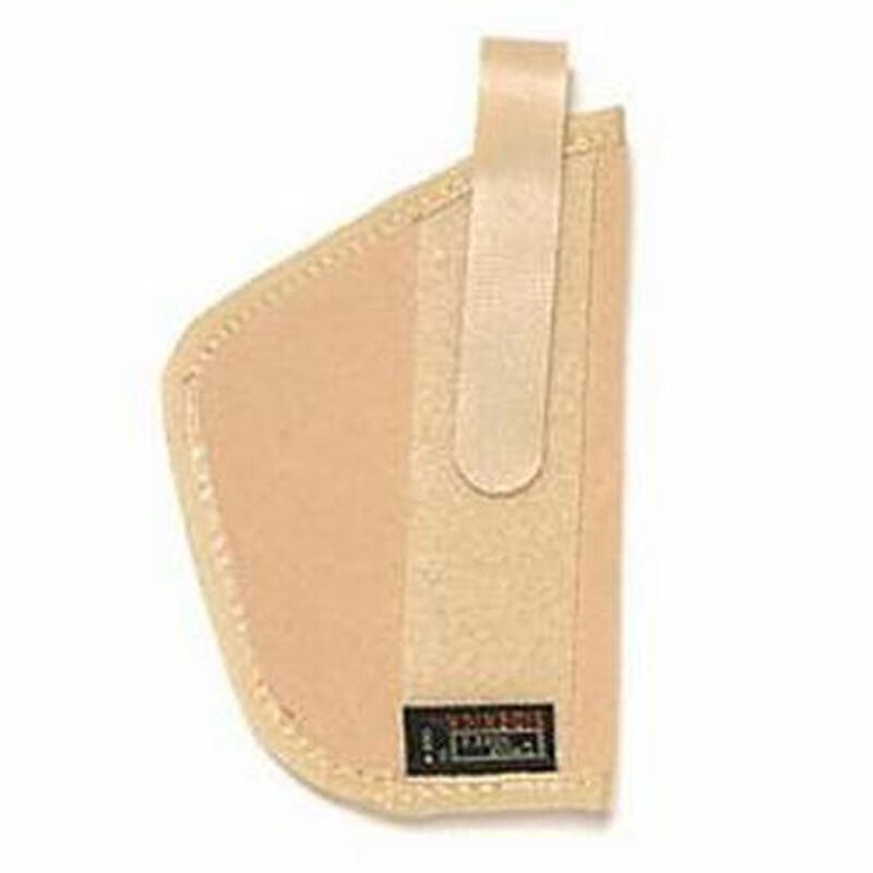 """Uncle Mike's Belly Band and Body Armour Holster 3.5"""" Sub Compact Autos Ambidextrous Natural"""