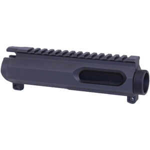 GuntecUSA AR-15 9mm Dedicated Stripped Upper Receiver Billet Aluminum Black