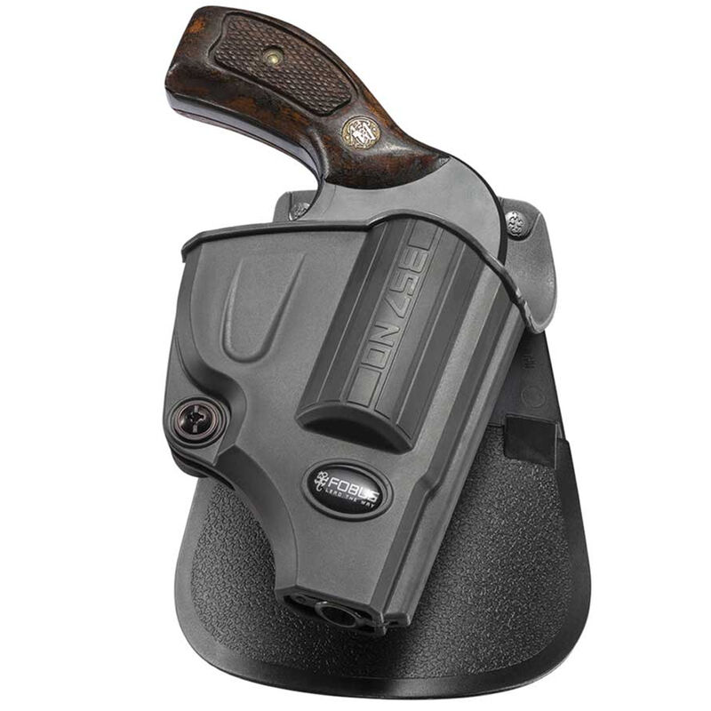 Fobus Evolution Holster Rossi 88/S&W J Frame Roto Paddle Attachment Right Hand Polymer Black
