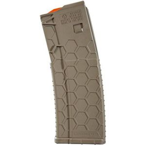 Hexmag AR-15 30 Round Mag 5.56 NATO Polymer FDE
