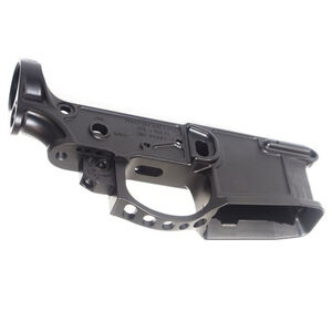 2A Armament Balios-Lite Gen 2 AR-15 Stripped Lower Receiver 5.56 NATO Machined from 7075-T6 Plate Aluminum Hard Coat Anodized Matte Black