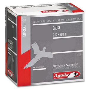 "Aguila Field 16 Gauge Ammunition 25 Rounds 2-3/4"" Length 1 Ounce #8 Lead Shot 1200fps"
