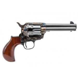 "Cimarron Thunderer Revolver 357 Mag 4.75"" Barrel 6 Rounds Color Case Hardened Frame Walnut Grip Blued"