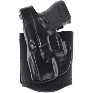 Galco Ankle Glove GLOCK 26, 33 Holster Left Hand Black
