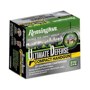 Remington .40 Smith & Wesson Ammunition 20 Rounds, BJHP, 180 Grains