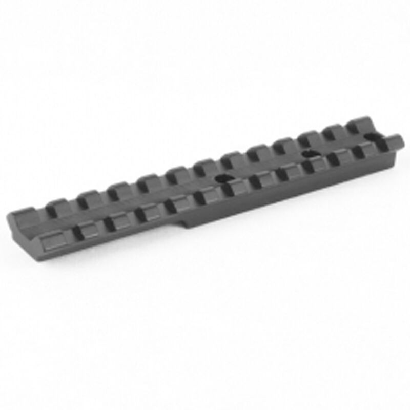 EGW Picatinny Rail Fits Henry H015 Series Single Shot Rifles Matte Black Finish