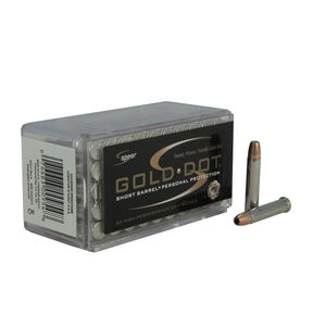 Speer Gold Dot .22 WMR Ammunition 2,000 Rounds Short Barrel JHP 40 Grain