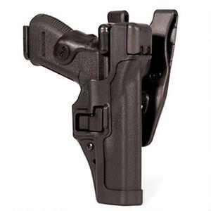 BLACKHAWK! SERPA Level Three Duty Holster Springfield XD/XD(M) Right Hand Polymer Black 44H107BK-R