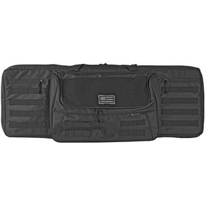 """Evolution Outdoor 1680 Tactical Series 36"""" Tactical Single Rifle Case Black"""