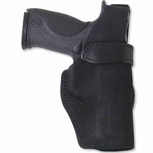 Galco Wraith Belt Holster S&W J Frame Revolver Right Hand Leather Black Finish WTH160B