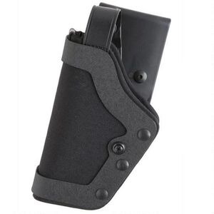 "Uncle Mike's PRO-3 S&W 9/40, Sub Compact .45 3.5"" to 4"" Barrel Duty Holster Left Hand Size 18 Kodra Nylon Black 35201"